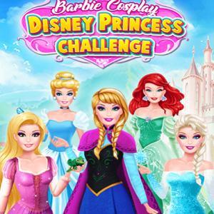 Barbie Cosplay Disney Princess Challenge