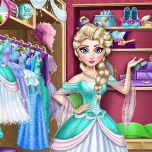 Disney Frozen Princess Elsa Dress Up Games