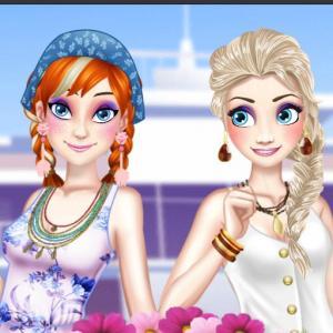 Ella and Anna Spring Break