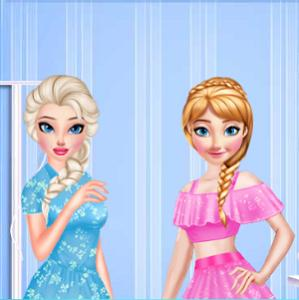 Elsa And Anna An Unusual Day