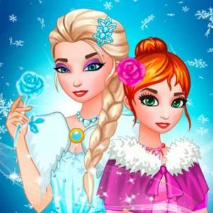 Frozen Queen Dress Up