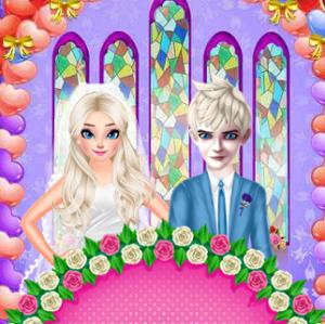 Princess Elsa Wedding Preparation