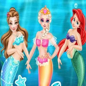 Princess First Aid In Mermaid Kingdom