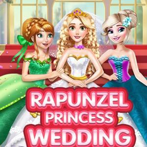 Rapunzel Princess Wedding Dress
