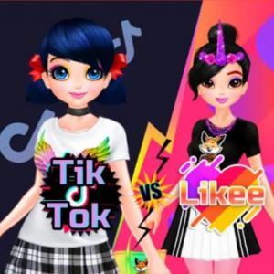 Tiktok Girls Vs Likee Girls