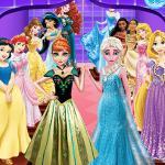 Frozen Elsa Sisters Wax Statue