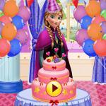 Princess Anna Birthday Party