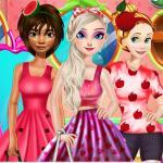 Princesses Fruits Lover